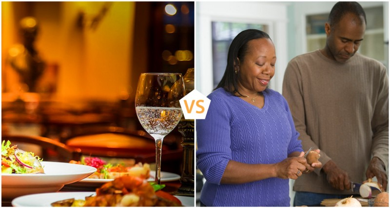 Eating Out Vs Home Cooking