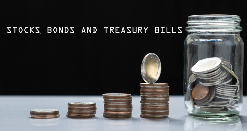 Stocks, Bonds and Treasury Bills